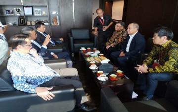 Gubernur Sulsel Audiens Bersama Presiden PT Marubeni Indonesia di Jakarta