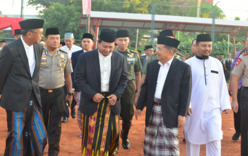Gubernur Sulsel Silaturrahmi di Kediaman Pribadi Wapres JK