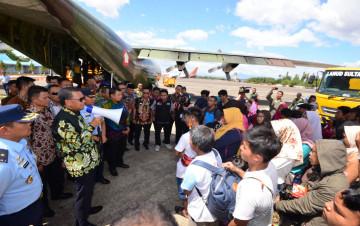 Warga Sulsel dari Papua Ditampung di Asrama Haji